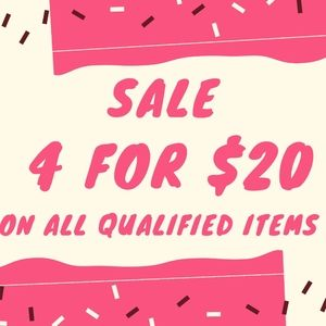 🌟🌟 4 for $20 sale🌟🌟